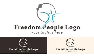 People  Logo Vector Design