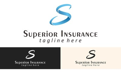 S Alphabet Insurance Logo Vector