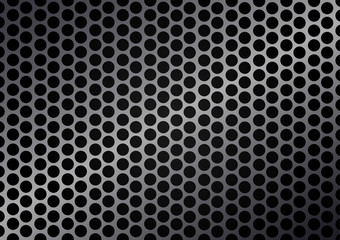 Vector cell metal background