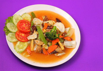 Thailand vegetable stir fry