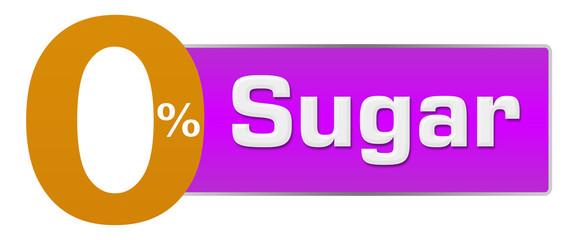 Sugar Free Zero Percent