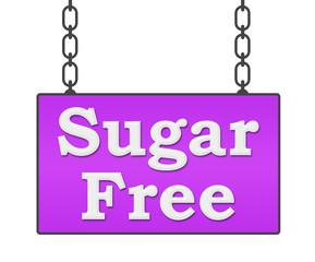 Sugar Free Signboard