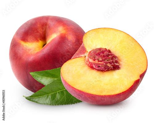 Fotobehang Keuken peach