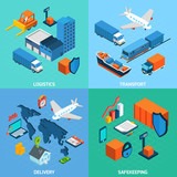 Logistics Isometric Set - 80960758