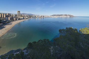 Playa de Poniente (Benidorm, Alicante - España).