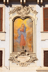 Roma Madonna in Piazza del Pantheon