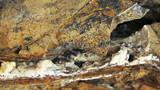 Laminated Limestone Rocks Formations At Cape Tarkhankut Near