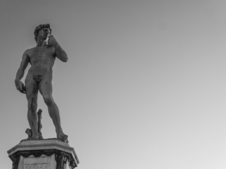 Sculpture of David by Michelangelo, Florence, Italy