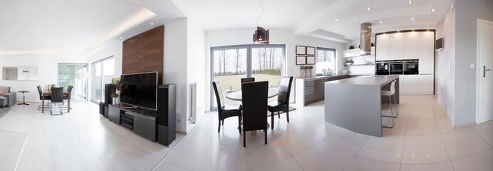 Luxury interior in contemporary design