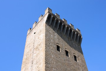 Old fortification in Italy - Florence landmark