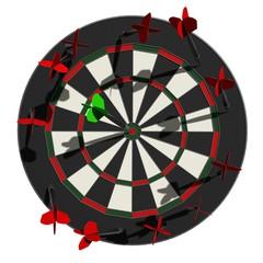 Darts - de aanhouder wint
