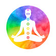 Meditation, aura and chakras. - 80965983
