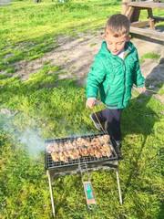 Izgara Tavuk Pişirme