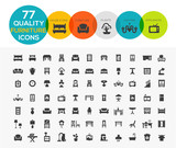 High Quality Furniture Icons including: Beds, offices, accessori