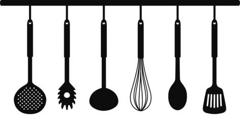 Küchenleiste SIlhouetten