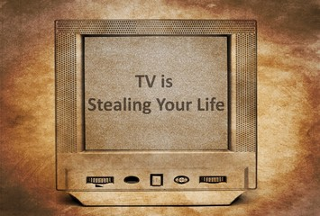 TV is stealing your life
