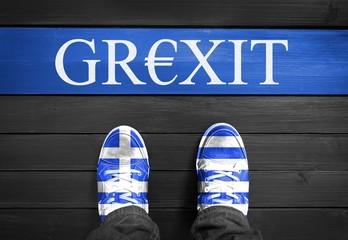 Grexit - Griechenland Austritt aus Eurozone