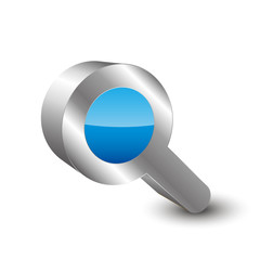 Search Icon 3d