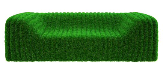 sofa bubble grass