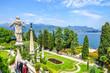 Leinwanddruck Bild - Isola Bella Blick auf Lago Maggiore