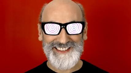 Hypnoglasses hide spiral hypnosis
