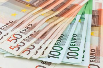 Euro close-up