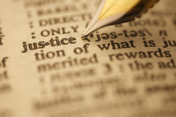 Dictionary Series : Justice