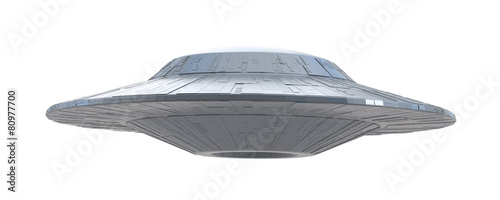 ufo on a white background - 80977700