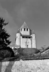 Caesar Tower (XII c.) of Provins France. UNESCO site