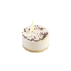 Delicious vanilla souffle cake