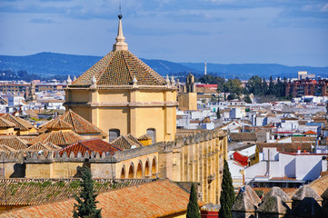 Alcazar Palace in Cordoba, Spain