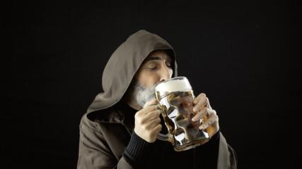 Friar big beer mug delicious share