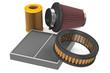 set of air filter for car