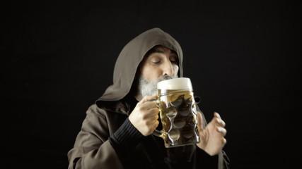 Friar big beer mug love