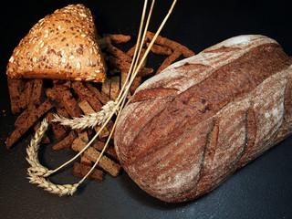 хлеб с сухарями