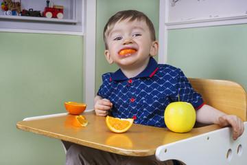 Fun during fruit time