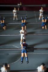 Foosball table match