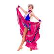 carnival dancer woman dancing