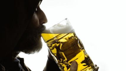 Beer silhouette big heaven
