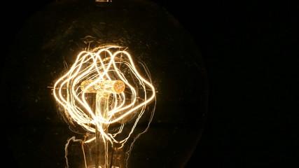 Vintage Light Bulb Filament