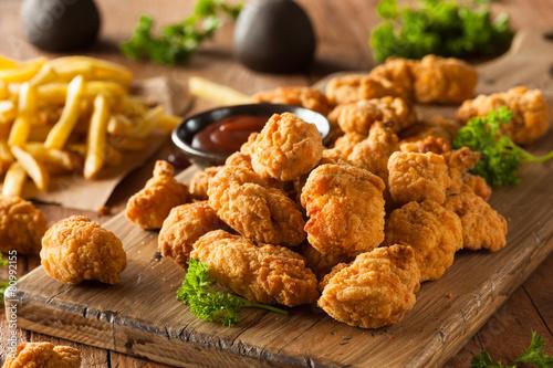 Homemade Crispy Popcorn Chicken - 80992155