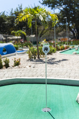Tropical Mini Golf Course