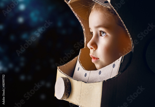 canvas print picture astronaut
