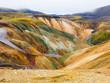 Landmannalaugar colorful rainbow mountains