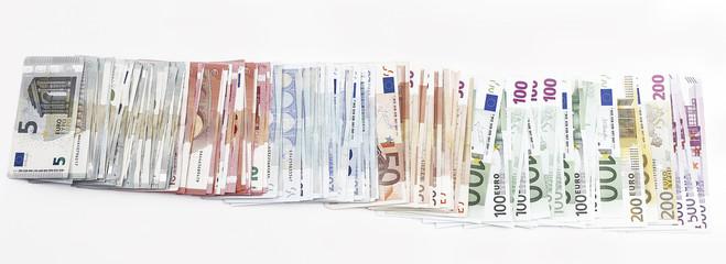 5,10,20,50,100,200,500 Euro Banknotes