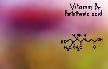 vitamin B5, formula, vitamins