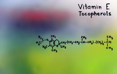 vitamin E, formula, vitamins