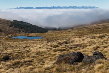 inversion in Fiordland National Park