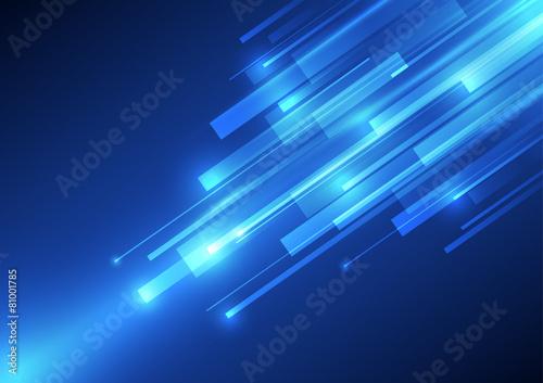 Zdjęcia na płótnie, fototapety, obrazy : vector digital speed technology, abstract background