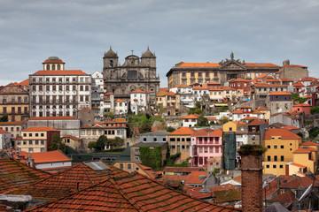 City Skyline of Porto in Portugal